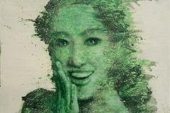 4 绿风系列 71x61cm
